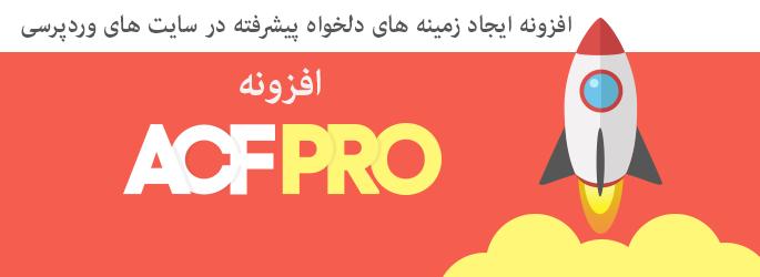 افزونه ACF Pro | افزونه زمینه های دلخواه پیشرفته | افزونه وردپرس ACF Pro | پلاگین Advanced Custom Fields | ساخت زمینه دلخواه در وردپرس