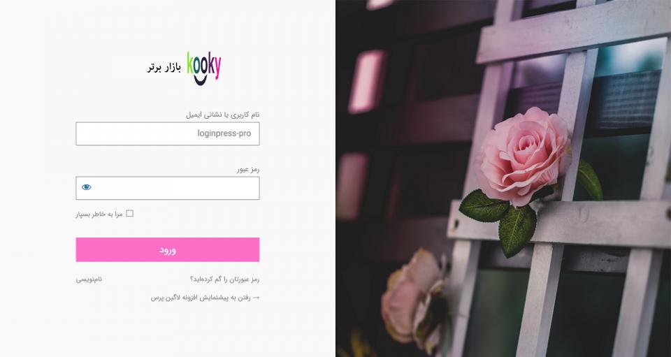 افزونه LoginPress Pro | سفارشی سازی صفحه ورود وردپرس | افزونه لاگین پرس پرو