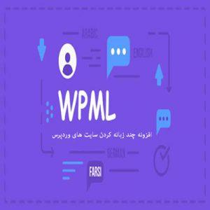 چند زبانه کردن وب سایت با افزونه | WPML