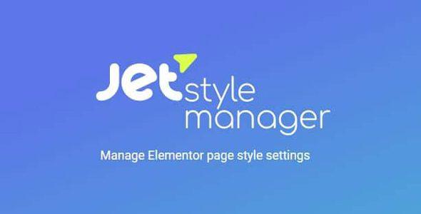 JetPack | پکیج محصولات Jet برای Elementor | JetStyleManager